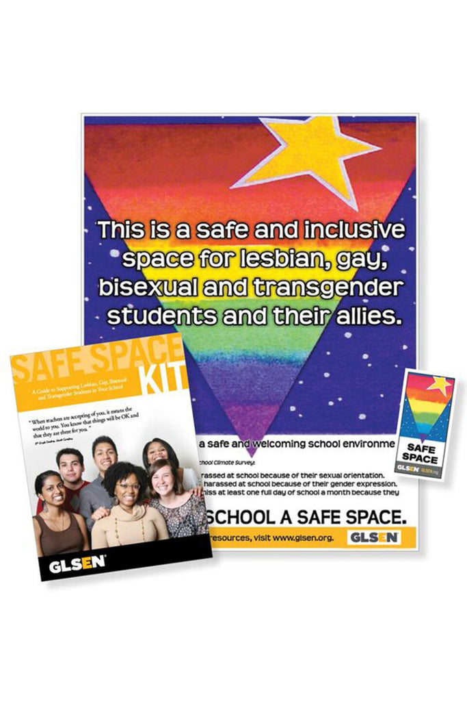 Creating Safe Space For Students After >> Glsen Safe Space Kit