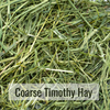 Coarse Timothy Hay Closeup