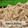 Natural Bedding Closeup