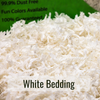 White Bedding Closeup