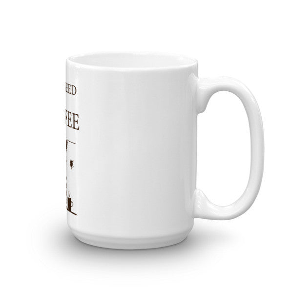 Rabbit Hole Hay Coffee Mug - Side