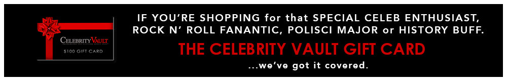 the CELEBRITY VAULT GIFT CARD... nailed it.