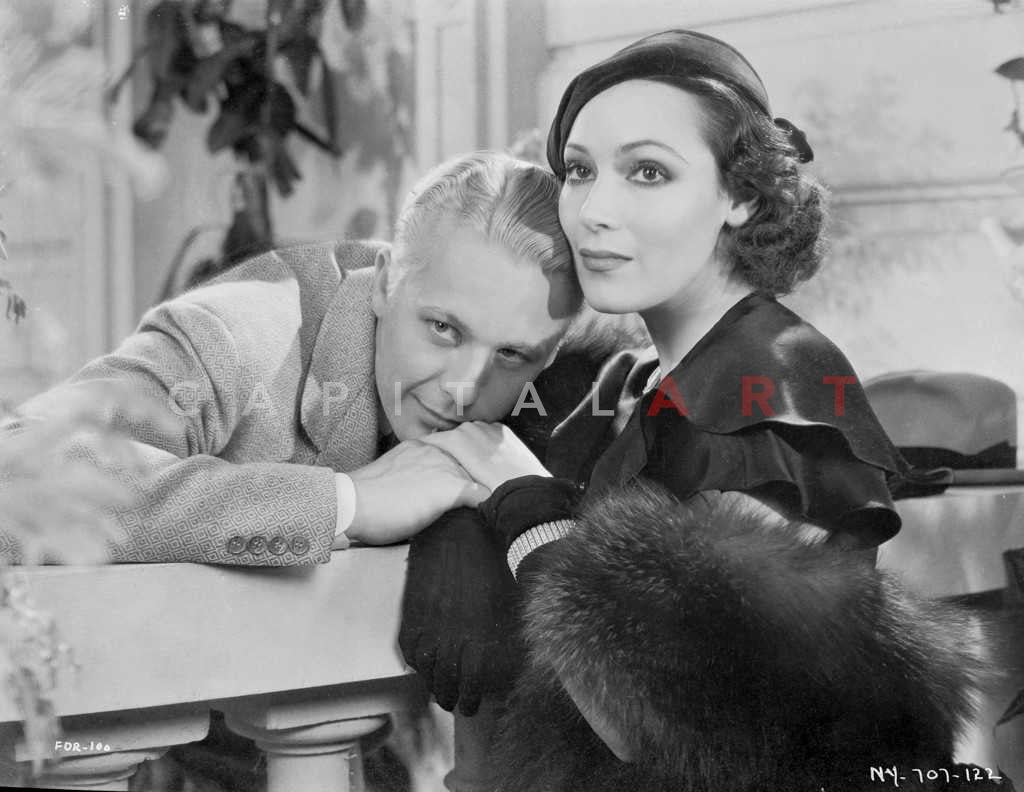 65e7549dc Couple posed in the Balcony Scene With Roger Bond and Dolores Del Rio –  Celebrity Vault
