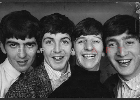 "THE BEATLES ""Up-Close"" by NORMAN PARKINSON, 1963"