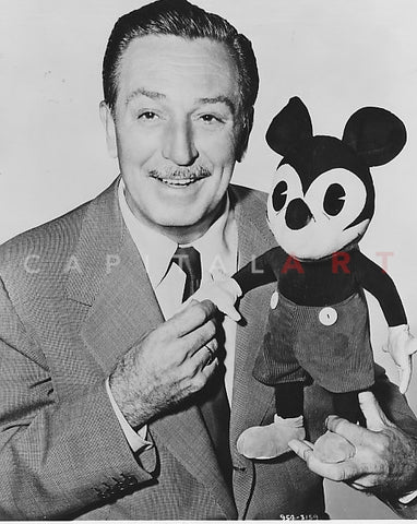 WALT DISNEY & his Most Famous Creation MICKEY MOUSE, 1960s