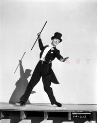 Fred Astaire in Formal Suit Attire Premium Art Print