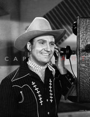 Gene Autry in Western Outfit Premium Art Print