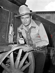 Gene Autry Excerpt from Film Premium Art Print