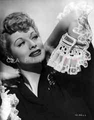 Lucille Ball Posed with the Cast in Group Picture Premium Art Print