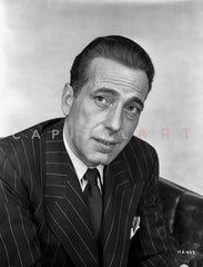 Humphrey Bogart smoking in a sports coat Premium Art Print
