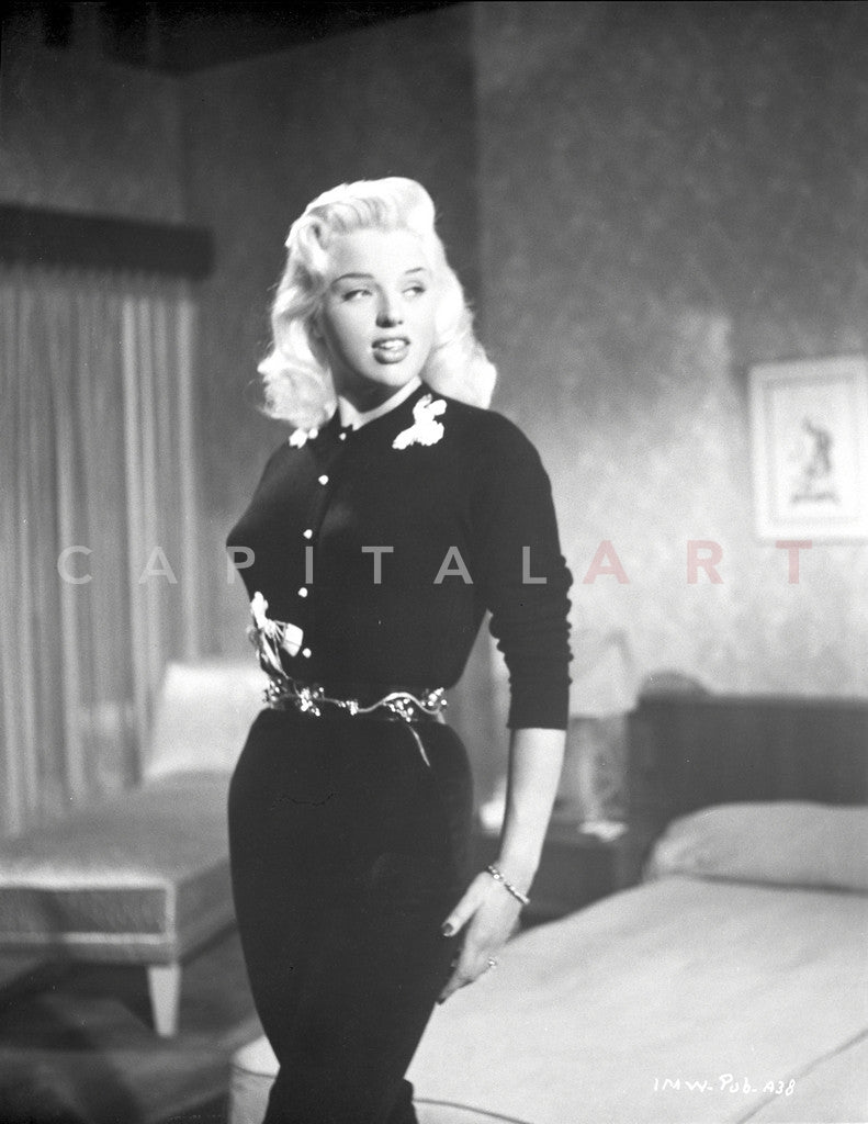 Diana Dors Portrait in Black Dress Near the Bed - Photograph Print  sc 1 st  Celebrity Vault & Diana Dors Portrait in Black Dress Near the Bed - Photograph Print ...