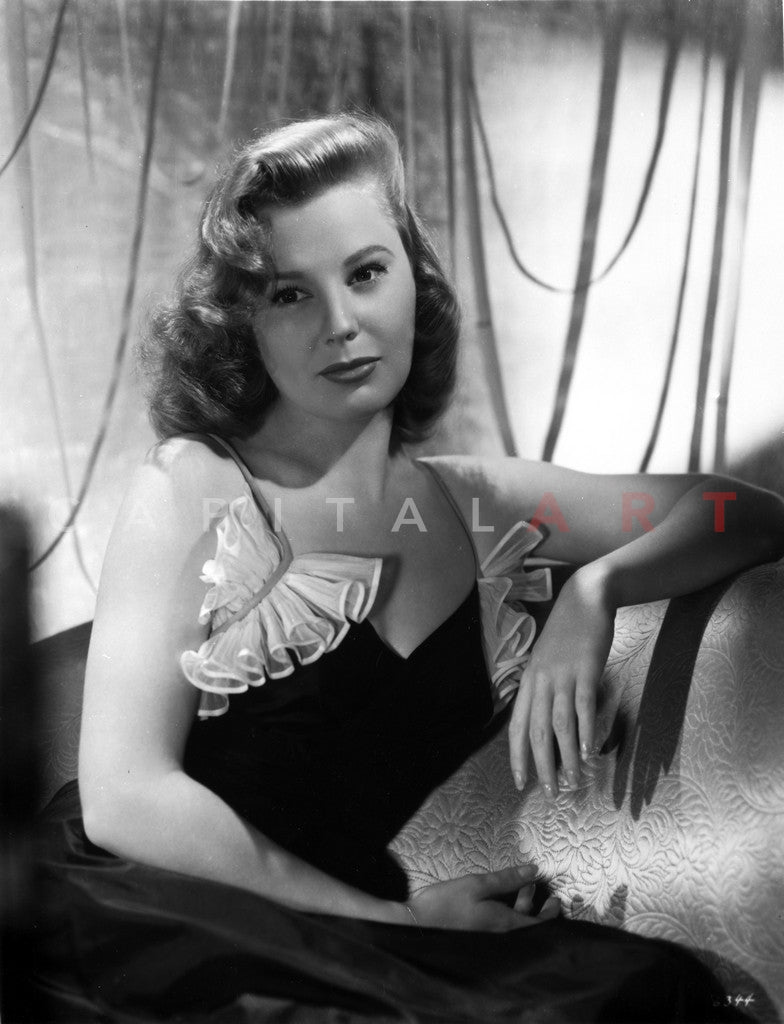 June Allyson Seated in Classic...