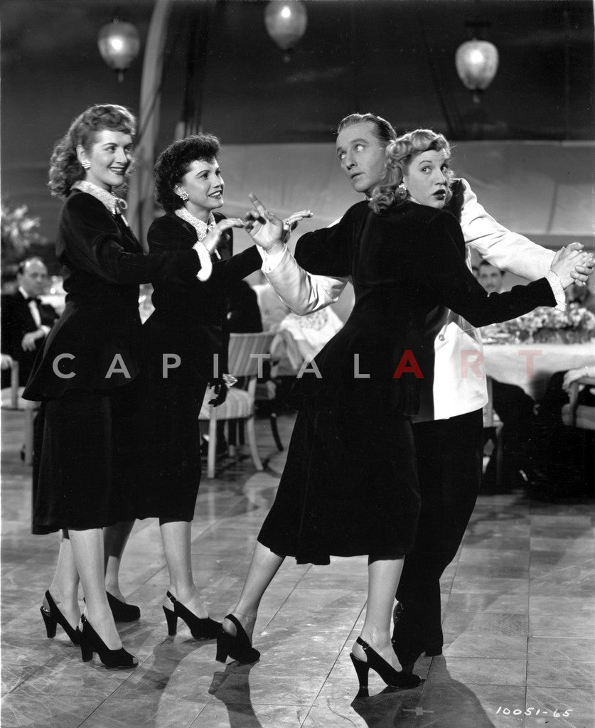 Andrew Sisters on a Dancing Hall Portrait Premium Art Print