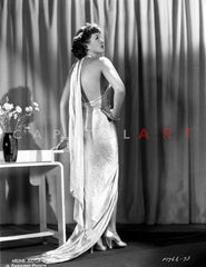 Arlene Judge standing in A Fluffy Shawl with Heels Premium Art Print
