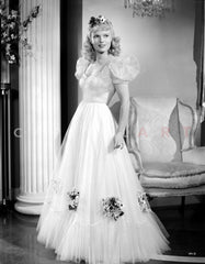 Anna Neagle on a Dress and Swaying Skirt Premium Art Print
