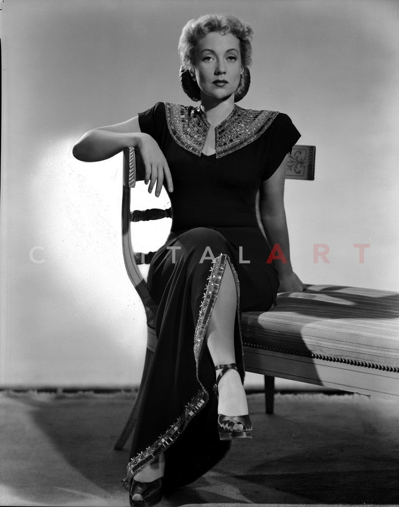 Ann Sothern Seated in Classic Premium Art Print