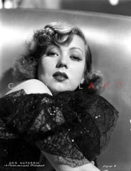 Ann Sothern Lying on the Bed Premium Art Print