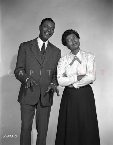 Pearl Bailey Couple Picture in Classic Premium Art Print