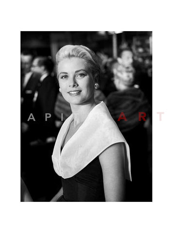 Grace Kelly Classic Portrait Premiere of Rear Window 1954