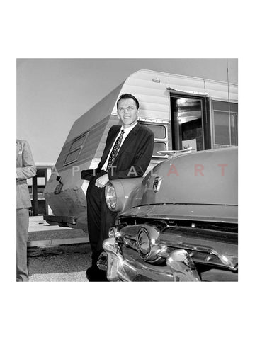 Frank Sinatra with Ford 1950
