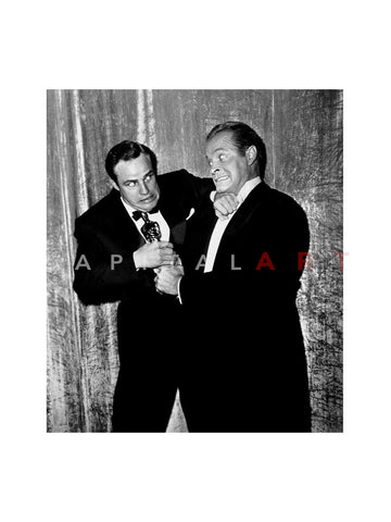 Marlon Brando Bob Hope Fight Over Oscar 1954