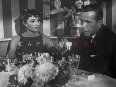 Audrey Hepburn and Alan Arkin Wait Until Dark Police Scene  Premium Art Print ...