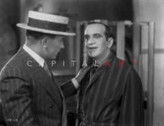 Al Jolson Playing the Piano for a Pretty Woman in a Classic Movie Scene Premium Art Print