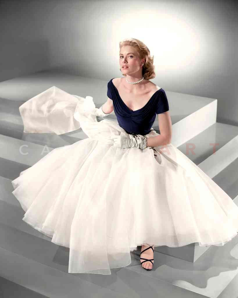 Grace Kelly, 1954 photographed by Bud Fraker Fully Colorized Master Print