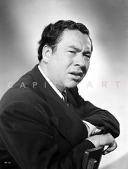Alan Reed Close Up in Classic Portrait Premium Art Print