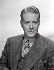 Nelson Eddy in Black With Black Background Premium Art Print