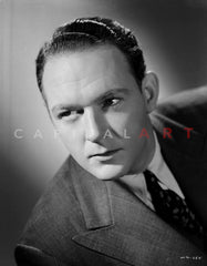 William Gargan in Black and White Portrait Premium Art Print