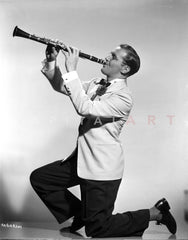 Benny Goodman in Black With Sunglasses Portrait Premium Art Print