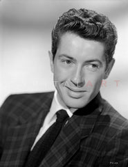 Farley Granger Looking Serious in Tuxedo Premium Art Print
