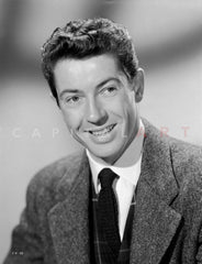 Farley Granger in long sleeve Portrait Premium Art Print