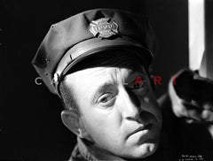 Al Murphy Making a Sad Face wearing a Hat and a Suit in a Classic Portrait Premium Art Print