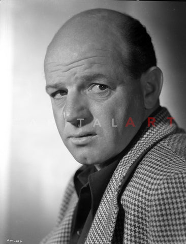 Al Murphy Posed in Side View Facing Left in a Close up Portrait Premium Art Print