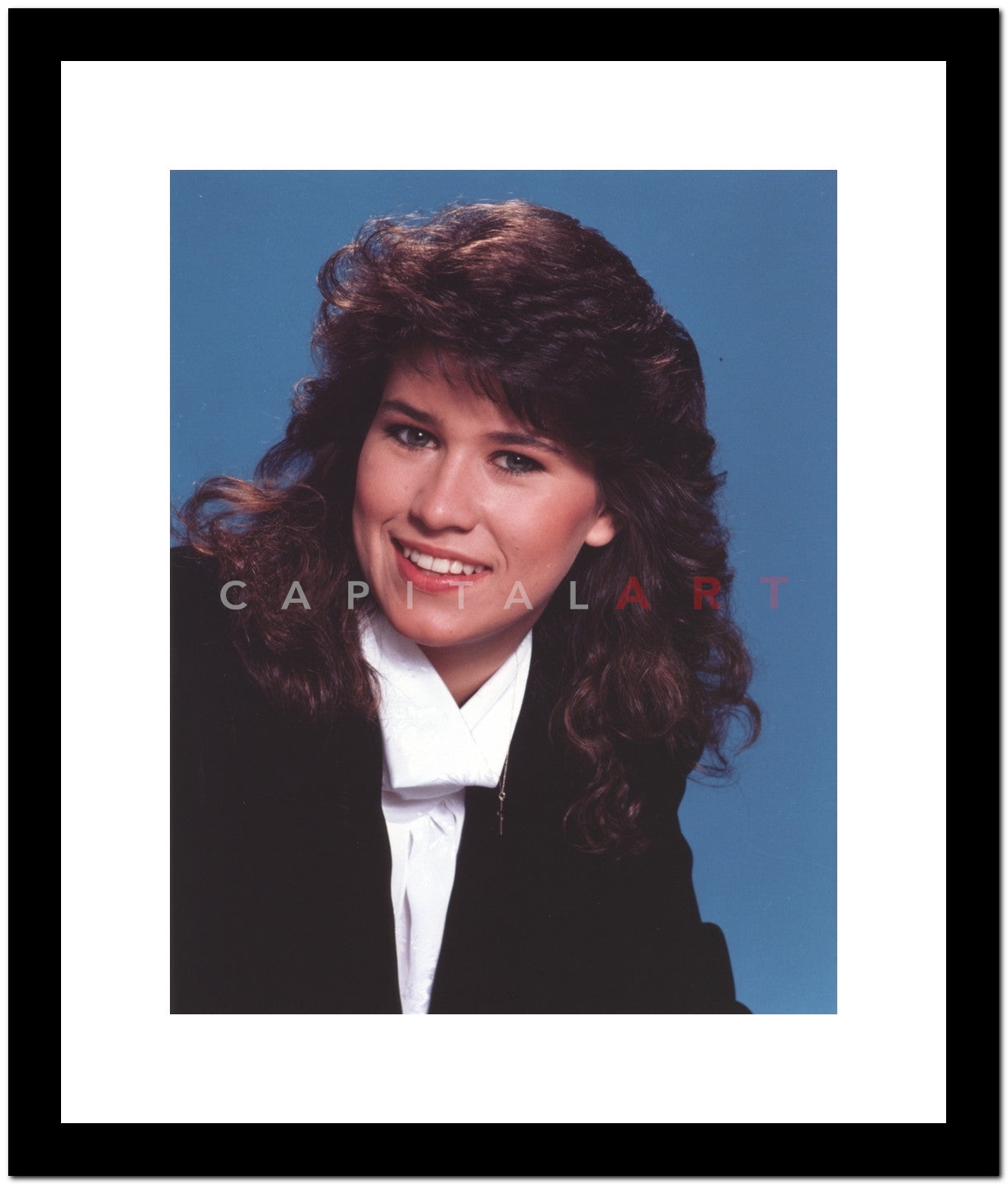 Nancy Mckeon Posed In Suit Premium Art Print Celebrity Vault
