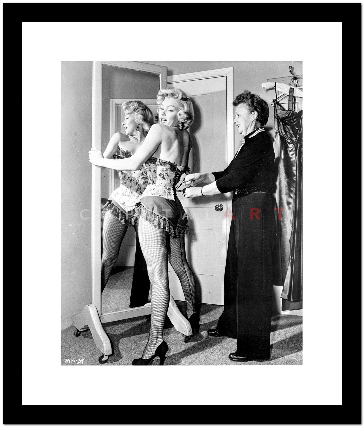 Marilyn Monroe in Corset Movie Scene from Bus Stop - Photograph High ...
