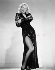 cbeb9446055 Marilyn Monroe in Corset Movie Scene from Bus Stop - Photograph High ...