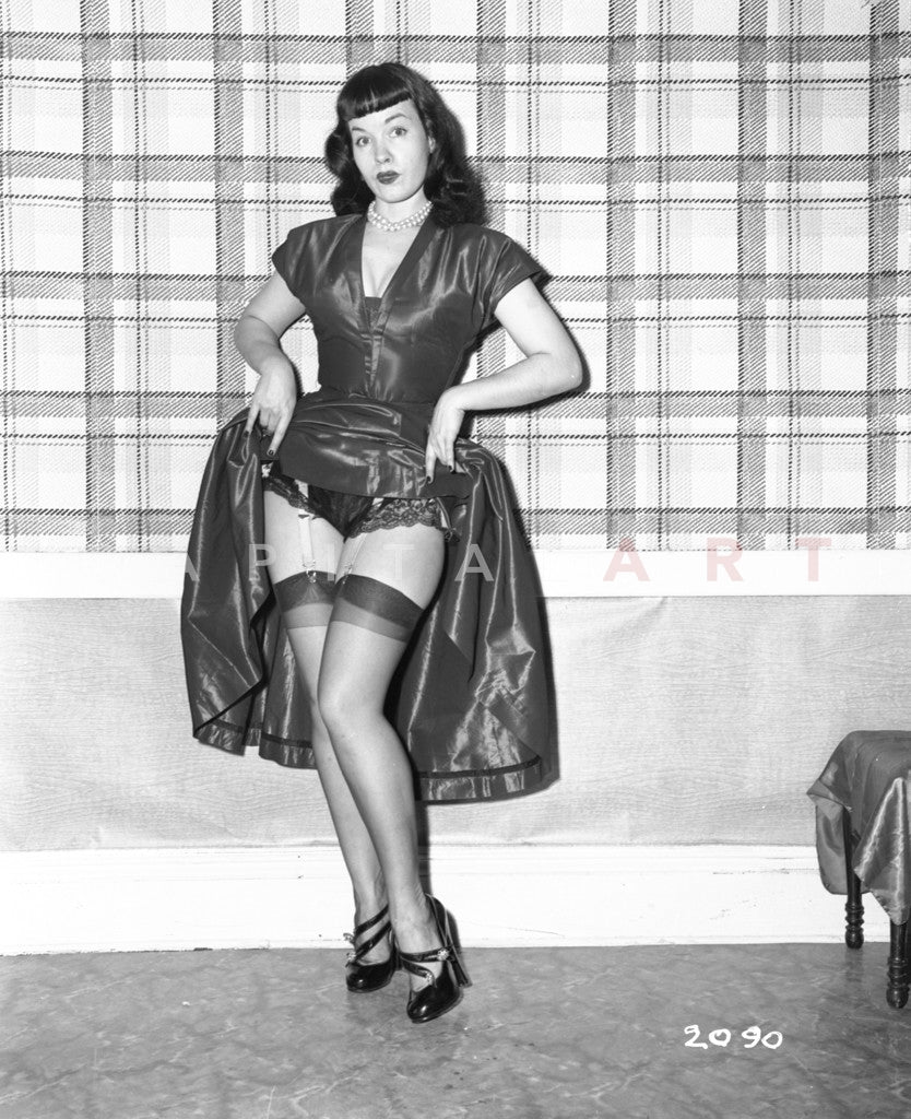 Bettie Page iconic