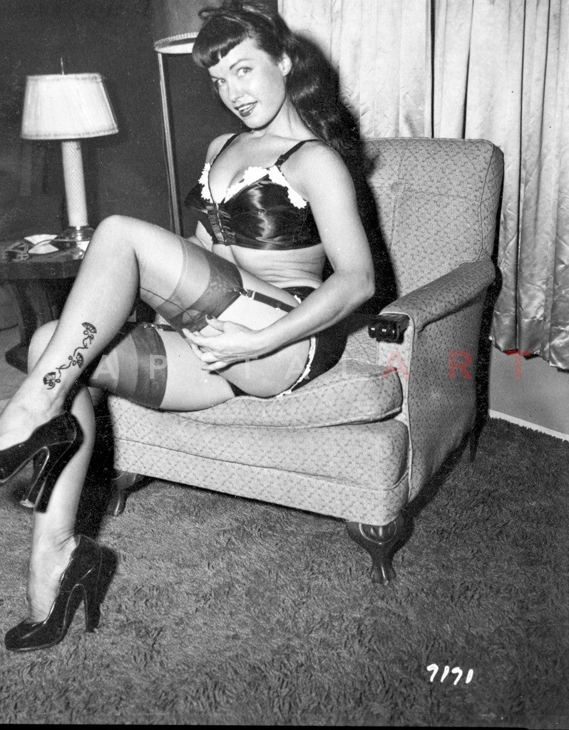 bettie page nude pictures