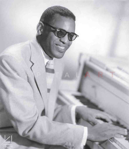 1950s RAY CHARLES Portrait of The Genius of the Blues NICE