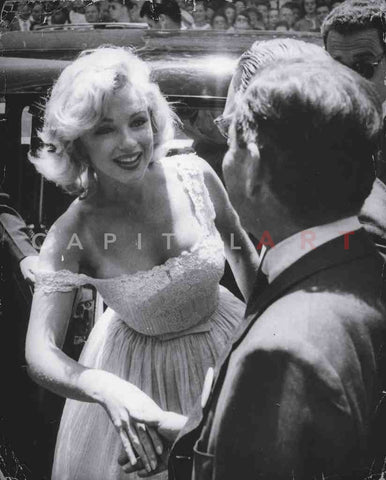 1950s MARILYN MONROE a MEET & GREET Marilyn Shakes Hands!