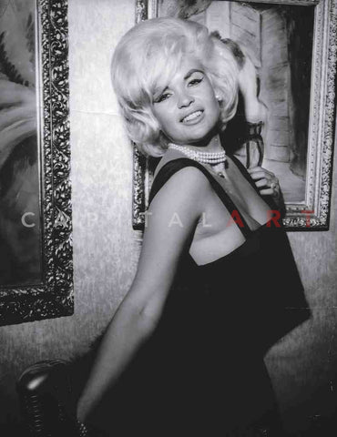 1950s JAYNE MANSFIELD Portrait of THE BLONDE BOMBSHELL!