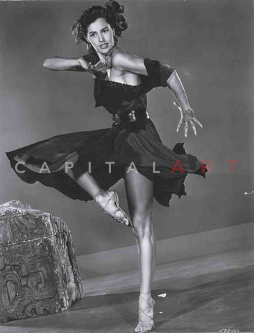 1950s CYD CHARISSE Hollywood's LEGGY Star Actress