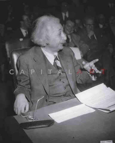 1940s ALBERT EINSTEIN Legendary Physicist Testifies Congress