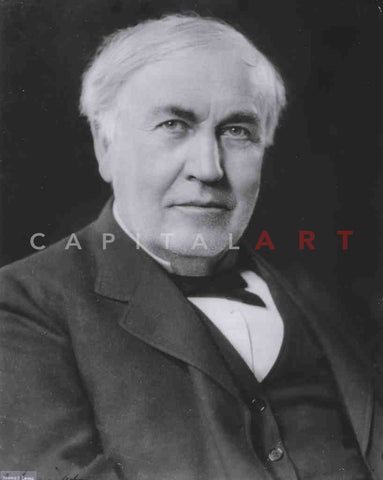 1920s THOMAS EDISON Candid PORTRAIT of a GENIUS!