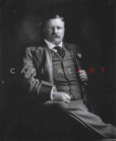 1920s Vintage Photo THEODORE ROOSEVELT Portrait of THE U.S. PRESIDENT!
