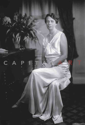 SUPERB 1933 ELEANOR ROOSEVELT Mrs. FDR, PORTRAIT of THE 1st LADY
