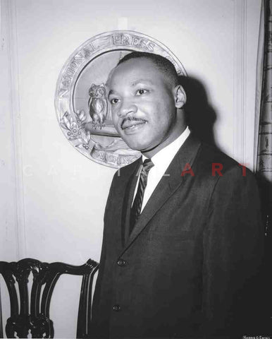 1960s Original Photo MARTIN LUTHER KING Candid Portrait UP-CLOSE!